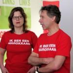 Aardig gebaar van GroenLinks... Maar nee. Solidariteit vinden we op basis dat we allemaal arbeiders zijn. En niet door ons, voor even, een andere nationaliteit/etniciteit aan te meten.